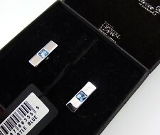 Annaleece by Devries Swarovski Crystal Cufflinks Beautiful Pair of Mint in Box