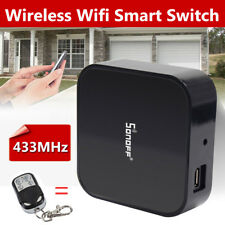 Sonoff Wireless Smart Switch RF Bridge 433MHz Wifi App Remote Control DIY Time