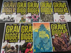 Grave Diggers 1-8 NM Image Comics Craig Cypress Guardia Fletcher  CBX1R