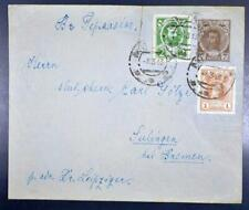 RUSSIA 1913 Tzars on Tsar Stationery Cover MOSCOW to GERMANY ,USSR,CCCP,Russland