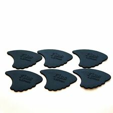 6 x EXTRA-HEAVY Dunlop Nylon Fins Guitar Picks Plectrum 1.07mm *1ST CLASS POST*
