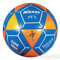 Mikasa FT5 Goal Master Soccer Ball Size 5 Orange/Blue Official Footvolley Ball