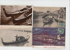 GONDOLE TRANSPORT VENICE VENISE ITALY ITALIE 41 CPA (mostly pre-1940)