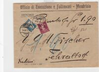 switzerland 1929 official stamps cover ref r13198