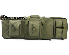 85CM 3Ways Hunting Tactical Dual Rifle Bag Shoulder Strap OD for S&W M&P 15-22