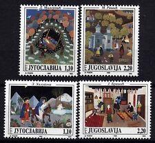 4024 YUGOSLAVIA 1995 PAINTINGS MNH