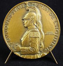 Médaille cuirassier cavalier militaire lourdement équipé armé A Lavriller Medal