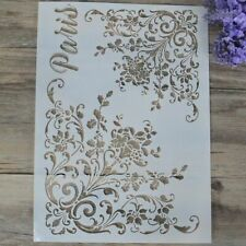 Decorative DIY Craft Embossing Template Layering Stencils Stamp Scrapbooking