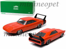 1 18 Greenlight Dodge Charger Daytona Personnalisée 1969 Orange