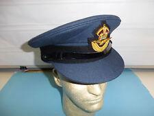 b3974-73/8 WW 2 RAF Royal Air Force Officer Visor Hat size 7 3/8 U4B