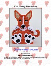 Basenji Dog Treat Holder- Plastic Canvas Pattern or Kit