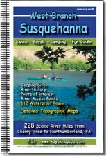 West Branch Susquehanna River Pa Paddler's Mapbook