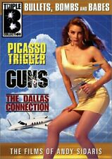 PICASSO TRIGGER / GUNS / DALLAS CONN. -FILMS OF A.SIDARIS - (3) DVD SET - SEALED