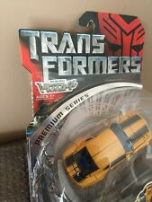 Transformers 2007 Movie Deluxe class-SEE THE MOVIE VAR-BUMBLEBEE Premium Series