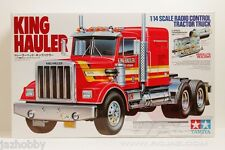 Tamiya 56301 1/14 Scale RC Tractor Truck King Hauler 6x4 Assembly Kit Set