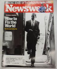 Newsweek Magazine Barack Obama How To Fix The World December 2008 052615R