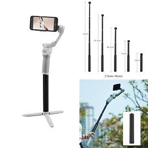 Selfie Extension Rod Bar Pole for DJI OSMO 4/DJI OSMO Mobile 3/2/Zhiyun Feiyu