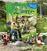 Peter Rabbit My Busy Books Board book with 12 Figurines,Brand New