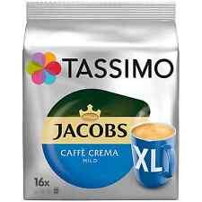 TASSIMO: Jacobs Cafe Crema Mild XL -Coffee Pods -16 pods