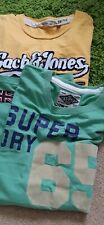 💚💚men's T-shirts Size M,  Superdry and Jack Jones 💚💚
