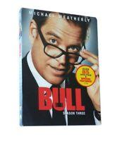 Bull Season 3 DVD(5 discs,new sealed,free shipping)
