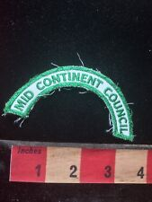 Girl Scouts Tab Patch Badge - MID CONTINENT COUNCIL 76J2