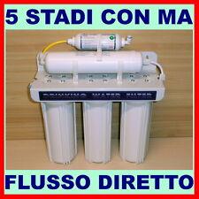 DEPURATORE ACQUA A MICROFILTRAZIONE 5 STADI CON FILTRO MAGNETICO MOD. 500 E PLUS