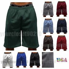 Men Basketball Shorts Mesh Dri-Fit Mesh GYM Jogger Workout  Big & Tall  S-5X