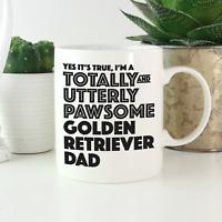 Golden Retriever Dad Mug: Funny gift for Golden Retriever owners & lovers gifts!