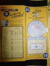 Cartes routières Michelin de collection sur la France, années 1960