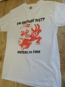 The Birthday Party T Shirt Prayers On Fire Post Punk Nick Cave Bad Seeds W097