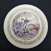 """1974 D'arceau Limoges Lafayette Legacy Collection Plate #4  #509  8.5"""""""