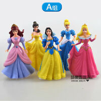 snow white princess figure PVC figures set of 5PCS doll toy new