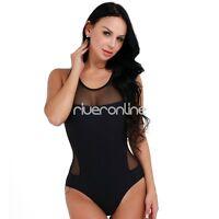 Women's One Piece Beach Swimsuit Swimwear Bathing Monokini Push Up Padded Bikini