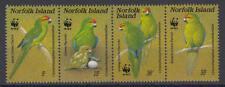 Norfolk Insel (Island) - Michel-Nr. 421-424 postfrisch/** (WWF Papageien Parrot