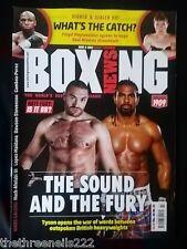 BOXING NEWS - HAYE-FURY - JUNE 6 2013