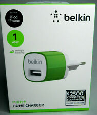 BELKIN ORIGINALE CARICA BATTERIE MIXIT IPHONE IPOD USB - HOME CHARGER USB 5W 1A