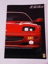 Ferrari 512 Sales Brochure F 512 M Testorossa OEM