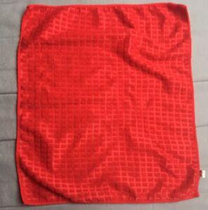 Vintage Retro Red Hand Towel