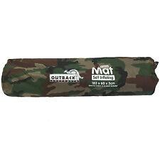 Outback Australia Self Inflating Matress Bed Sleeping Pad Portable Air Mat 183-6