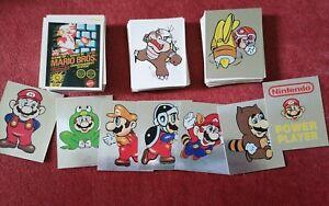 Merlin Nintendo 1992  Complete stickers Set
