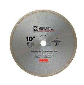 MK DIAMOND Circular Saw Diamond Blade 10 Inch Wet Contractor THA 167031
