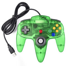 Wired N64 USB Controller Game Pad for Windows PC MAC Linux Raspberry Pi 3 US