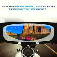 Motorcycle Helmet Lens Anti Fog Motorcycle Universal Film Ultra Patch Clear H2Q6