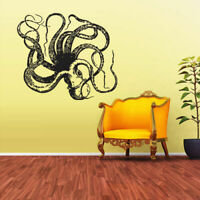 Wall Decal Vinyl Sticker Decals Octopus Sprut Poulpe Delfish Tentacles Z1932