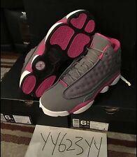 Nike Air Jordan 13 Cool Grey PinkSz 6.5Y Brand New 100% Authentic Fit Mens 11 12