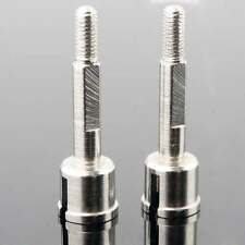 RC HSP 08064 Silver Wheel Axle 2P For HSP 1:10 Nitro Monster Truck