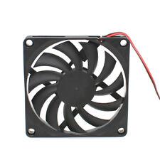 3D Printer 80x80x10mm DC 12V 0.15A 8010 2 Pin Extruder Cooling Fan