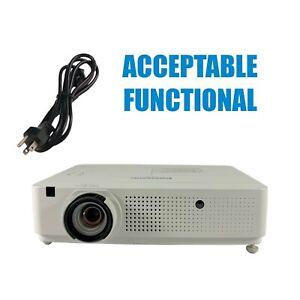 Panasonic PT-VX400NTU 3LCD Projector Wireless - Acceptable Functional w/PC
