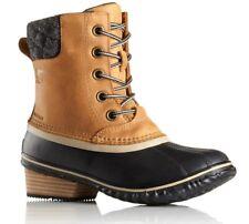 Sorel Slimpack II Lace Duck Rain Boots - Women's - 8, Elk/Black